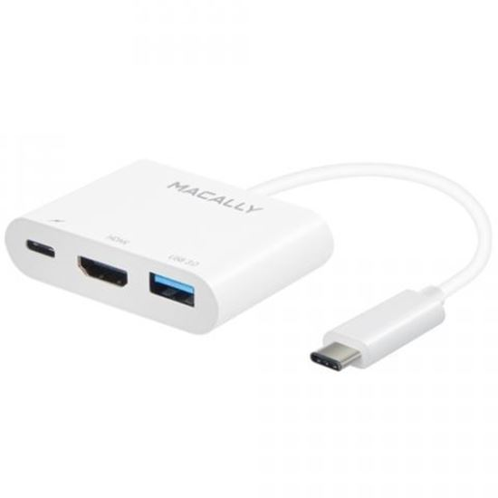 Picture of Macally USB-C to HDMI 4K multiport adapter