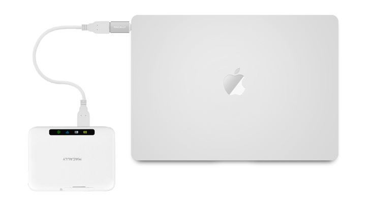 Picture of Macally USB-C to USB A Femm mini Adapter - 2 Pack