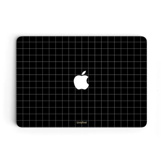 """Picture of Uniqfind - Grid Line Skin for Macbook Air / 13"""" Pro"""