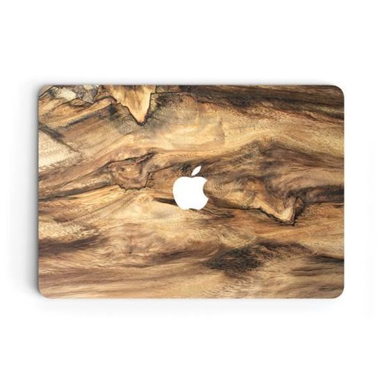 """Picture of Uniqfind - Wood Skin for MacBook 13"""" / 15"""" Pro"""