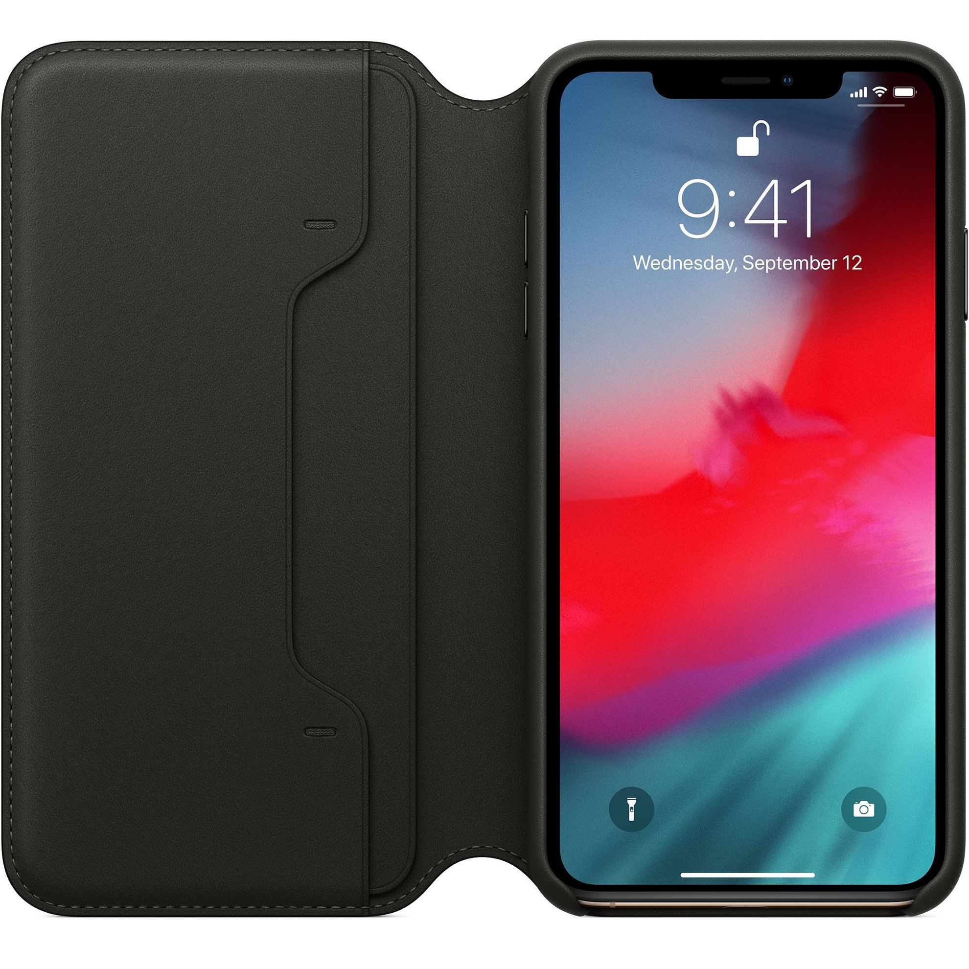 Picture of Apple Leather Folio case for iPhone XS / XS Max