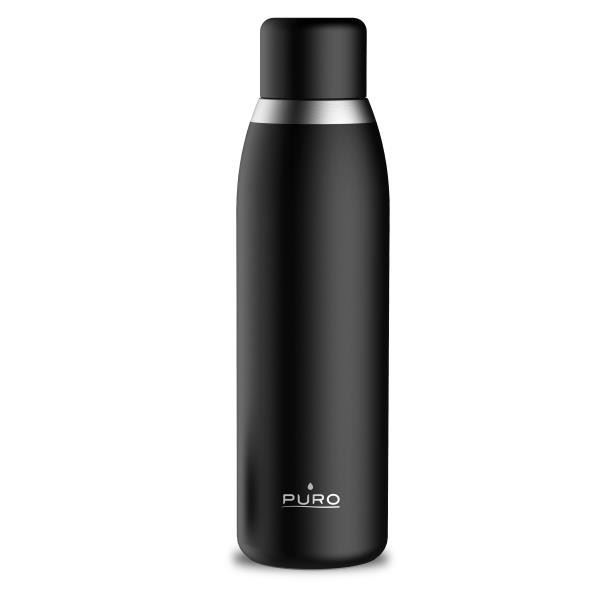 Picture of Puro Stainless Steel Bottle with Display LCD Lid