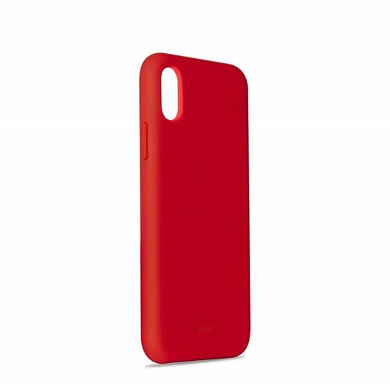 Picture of Puro Cover Silicon with Microfiber for iPhone XR