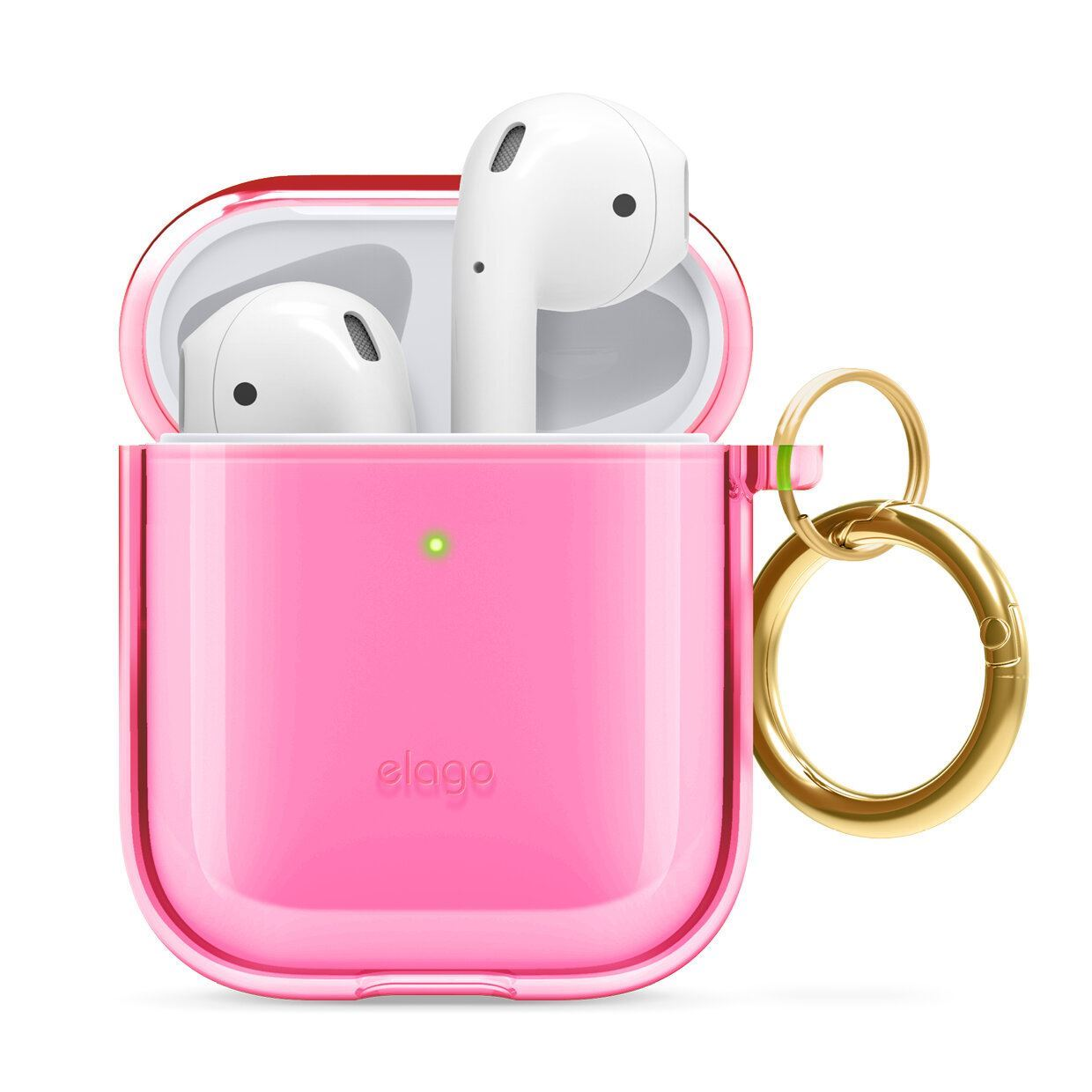 Picture of Elago Silicone Clear Case for AirPods 1 & 2
