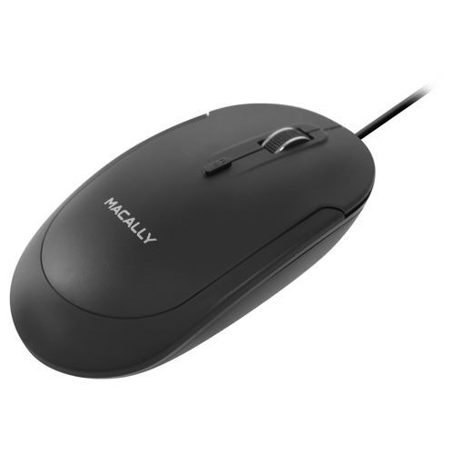 Picture of Macally USB Optical Mouse - Black