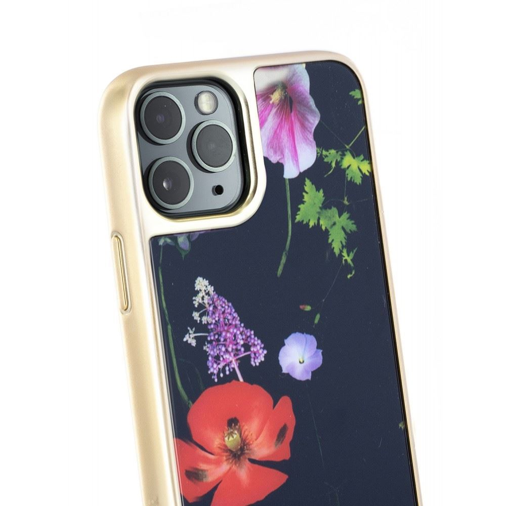 Picture of Ted Baker - Hedgerow Glass Back Case for iPhone 11 Pro