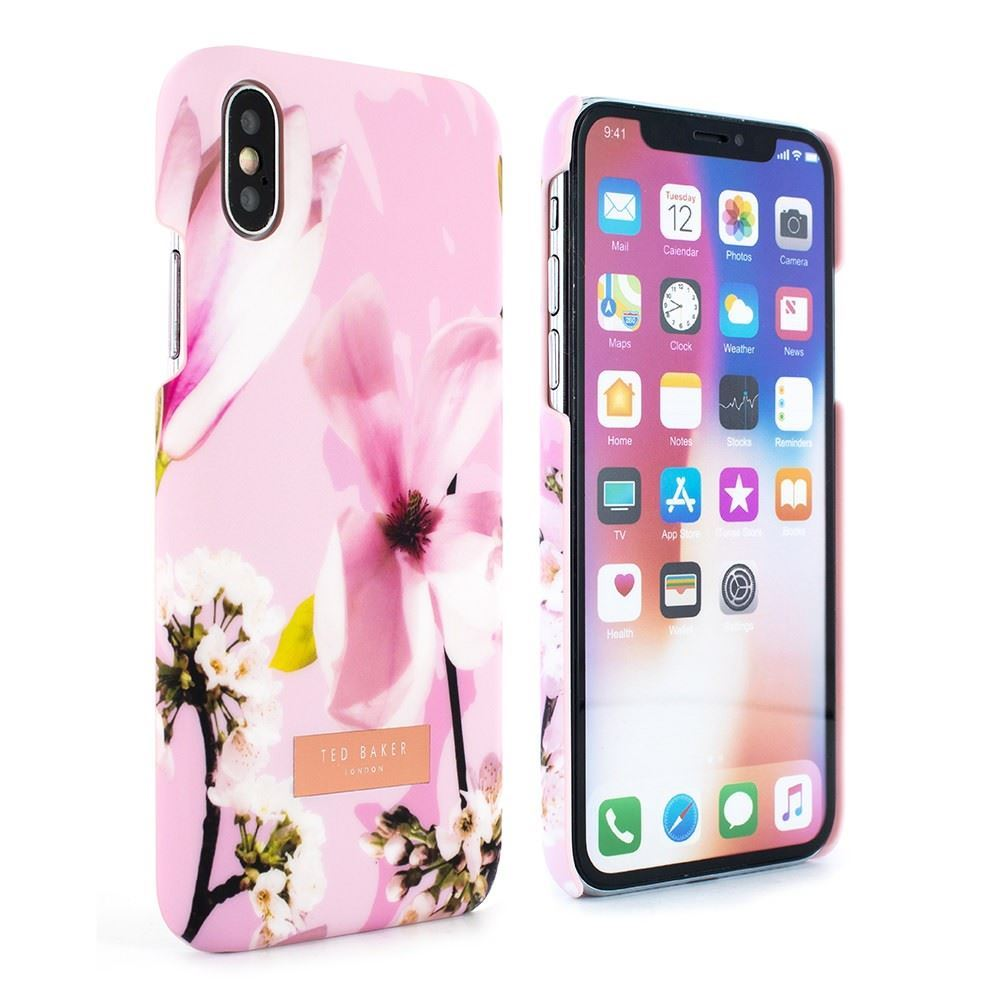 Picture of Ted Baker - Zoeni Fairytail Pink Soft Feel Hard Shell Case for iPhone X / XS