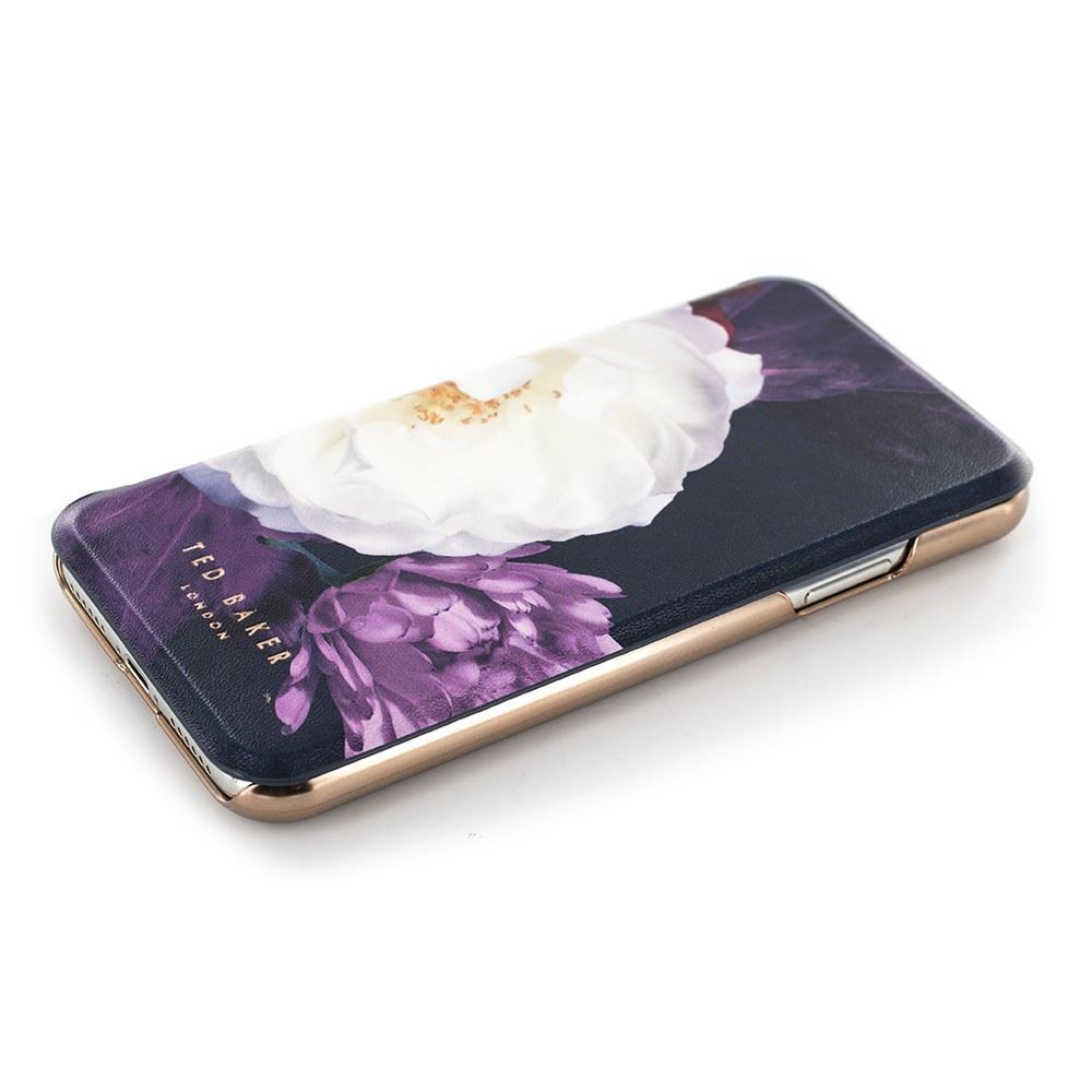 Picture of Ted Baker - Blushing Bouquet Folio Case for iPhone X / XS