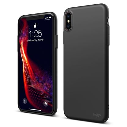 Picture of Elago Slim Fit Case in Black For iPhone XS Max