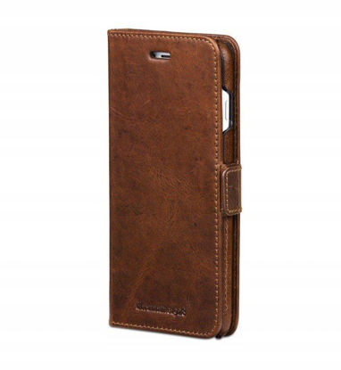 Picture of dbramante1928 Ordrup Flip Case for iPhone 6/7/8 Plus in Dark Tan