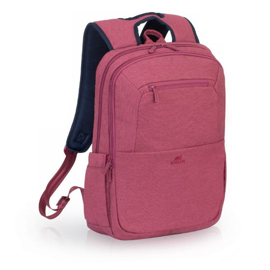 """Picture of RivaCase 7760 Laptop Backpack 15.6"""" - Red"""