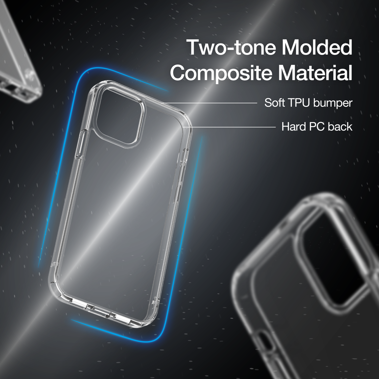 Picture of Just Mobile - TENC Air Clear Case for iPhone 12 / mini / Pro / Pro Max