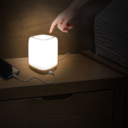 Picture of Macally Nightstand LED light with 4 port USB charger - UK