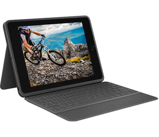 Picture of logitech Rugged Folio for iPad 7th & 8th Gen