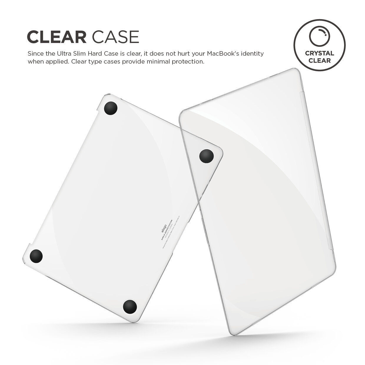 """Picture of Elago Ultra Slim Hard Case For MacBook Pro 13"""" - Clear (2016-2020)"""