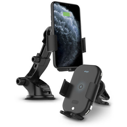 Picture of Elago Wireless Charger 3in1 Use 10W Dashboard Mount/Air Vent