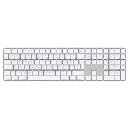 Picture of Magic Keyboard with Touch ID and Numeric Keypad for Mac models with Apple silicon
